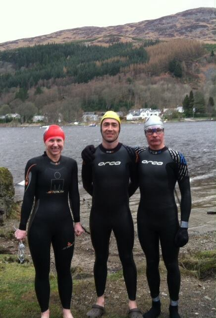 Cold Loch Earn Swim